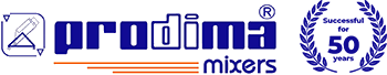 Prodima Mixers - For food, cosmetic, chemical and pharmaceutical industry